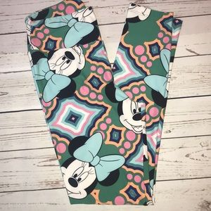 NWOT! Lularoe x Disney OS leggings